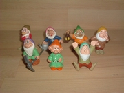 Lot figurines les 7 nains