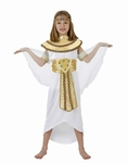 Deguisement costume Egyptienne Cléopâtre  7-9 ans