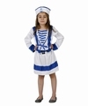 Deguisement costume Marin Fille 3-4 ans