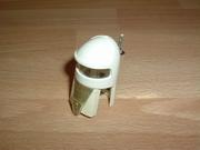 Casque cosmonaute blanc