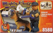 mighty world set chien policier neuf