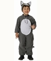 Deguisement costume Loup 3-4 ans (bonnet sans lacet)