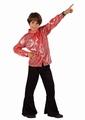 Deguisement costume Disco rouge 7-9 ans
