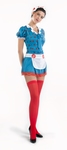 Deguisement costume Poupée robe sexy bleue