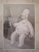 Simpsons fauteuil