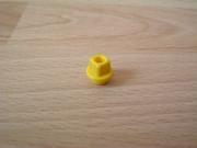 Crochet rond jaune