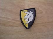 Bouclier chevalier licorne