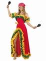 Deguisement costume Brésilienne Rumba  XL rose