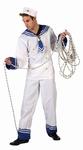 Deguisement costume Marin  blanc  XL