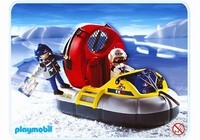 Playmobil Explorateurs  aéroglisseur 3192