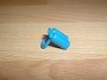 Bouteille de plongée bleu