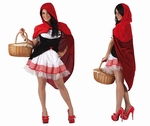 Deguisement costume Chaperon rouge  XL
