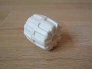 Roue blanche Ø 2,3 cm largeur 2,3 cm