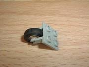 Roue simple avec fixation Ø 1,4 cm largeur 0,4 cm