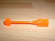 Pièce longue orange