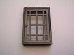 Porte grille grise  7 x 4,8 cm