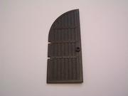 Porte chateau noire  9 x 4 cm