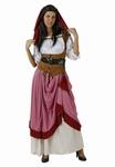 Deguisement costume Dame médiévale aubergiste  XXL
