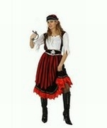 Deguisement costume Pirate jupe longue  XXL