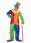 Deguisement costume Clown haut de forme  XL