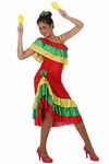 Deguisement costume Danseuse Rumba