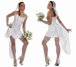 Deguisement costume Mariée fiancée  XL