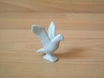 Pigeon bleu ailes ouvertes