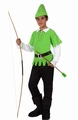 Deguisement costume Robin des Bois - Peter Pan 3-4 ans