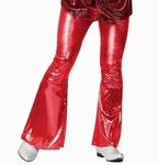Deguisement costume Disco Pantalon rouge