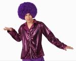 Deguisement costume Disco Chemise rose XL