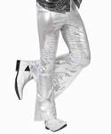 Deguisement costume Disco Pantalon blanc XL