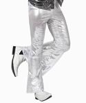 Deguisement costume Disco Pantalon blanc XL