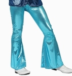 Deguisement costume Disco Pantalon bleu