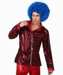 Deguisement costume Disco Chemise rouge XL