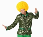 Deguisement costume Disco Chemise verte