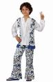 Deguisement costume Hippie garçon 5-6 ans