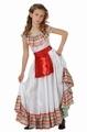 Deguisement costume Mexicaine 7-9 ans