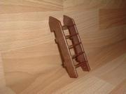 Escalier pour toit cabine