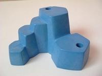 Rocher bleu 2 trous