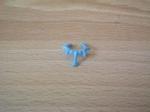 Collier indien bleu
