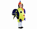 Deguisement costume Poisson 3-4 ans