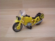 Moto BMW jaune