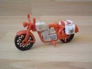 Moto première génération rouge