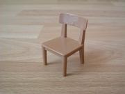 Chaise marron clair