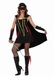 Deguisement costume Zorro Femme