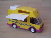 Camping car jaune