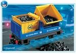 Playmobil Wagon avec bennes basculantes 4125