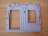 Mur bleu ciel pour porte et fenêtre neuf