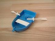 Barque bleue neuve
