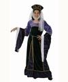 Deguisement costume Dame médiévale 5-6 ans